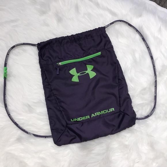 Under Armour Drawstring Backpack Bag. M 5bbe502dbb761568b325feab 39c1b15e82
